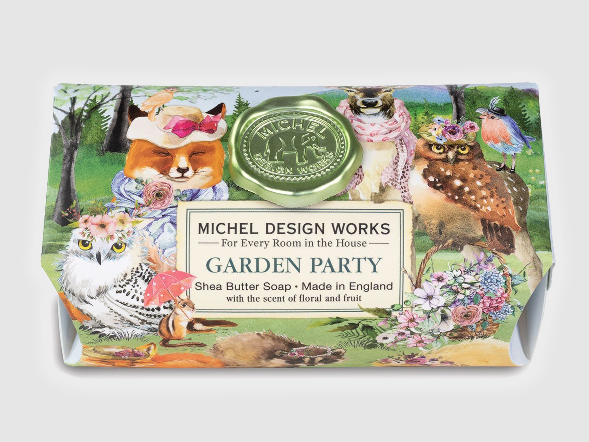 Garden Party Large Bath Soap Bar