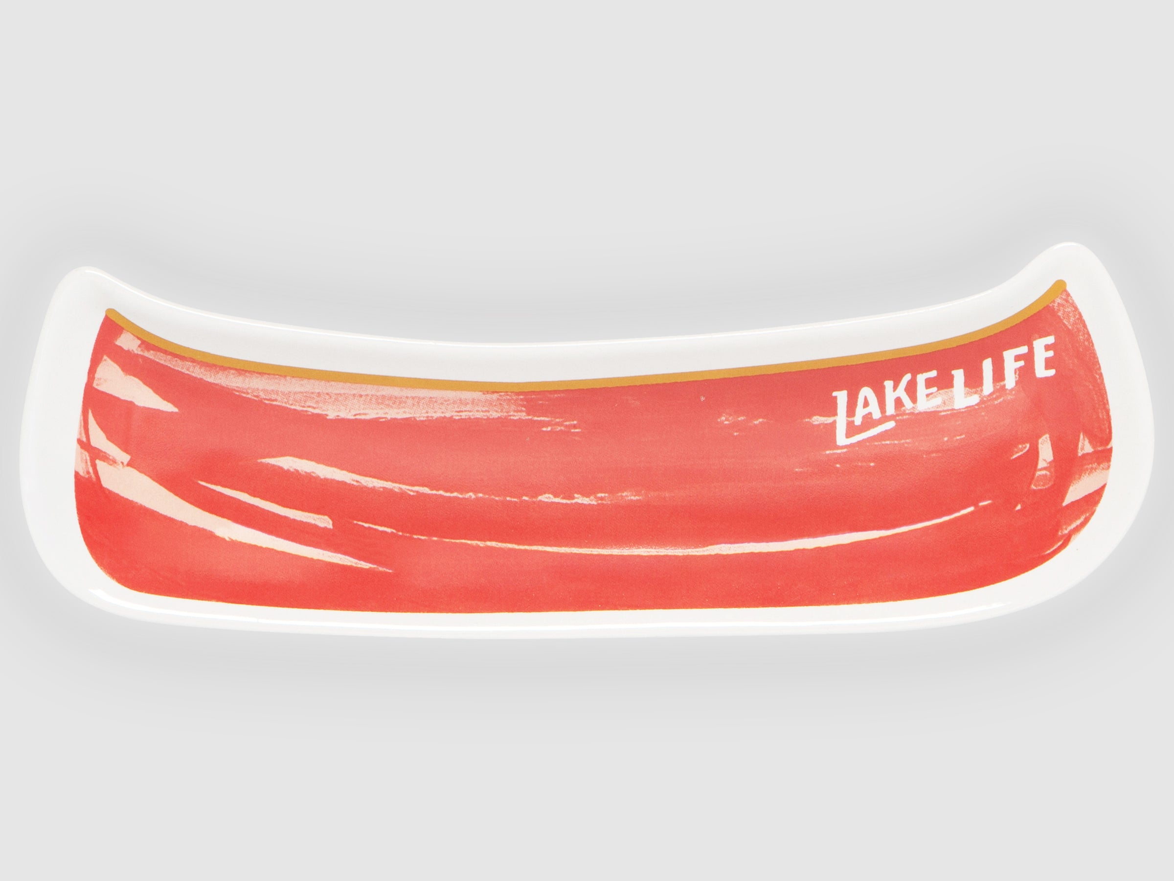 Lake Life Canoe Shaped Dish