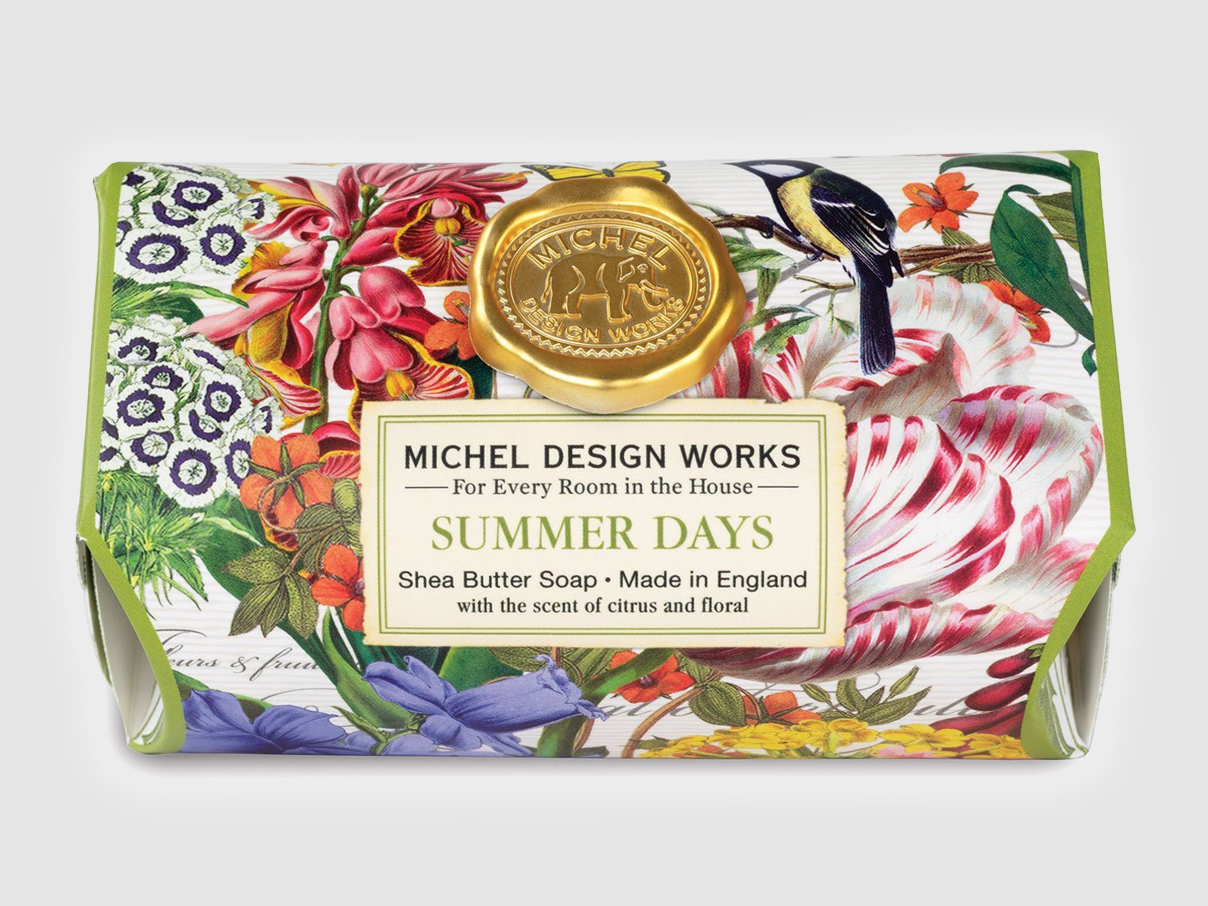 Summer Days Large Bath Soap Bar