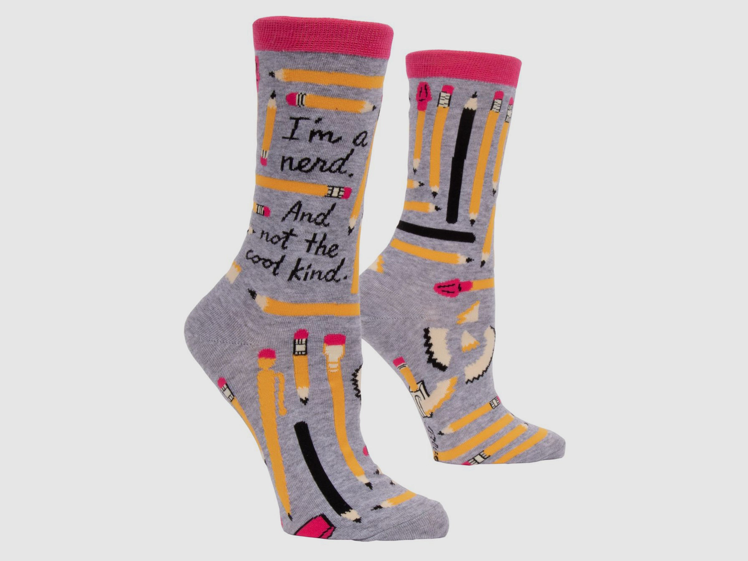 I'M A NERD. AND NOT THE COOL KIND - Women's Crew Socks
