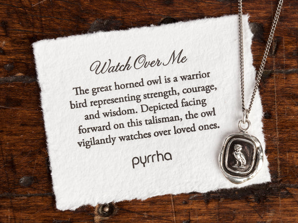 Watch Over Me - Talisman Keepsake Necklace