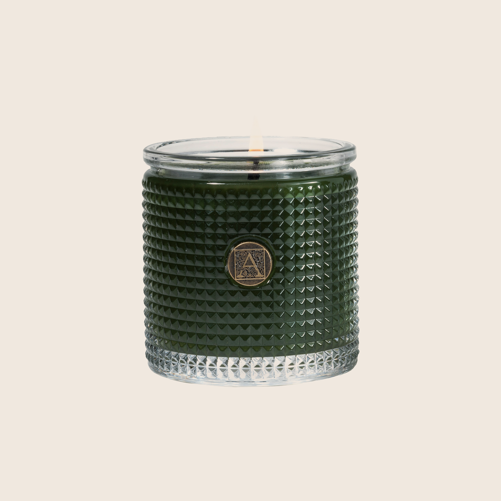 The Smell Of Tree - Textured Glass Candle