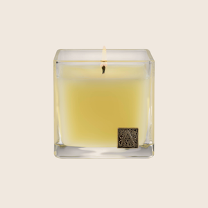 Load image into Gallery viewer, Orange & Evergreen - Cube GlassCandle - Aromatique