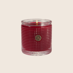 The Smell of Christmas - Textured Glass Candle