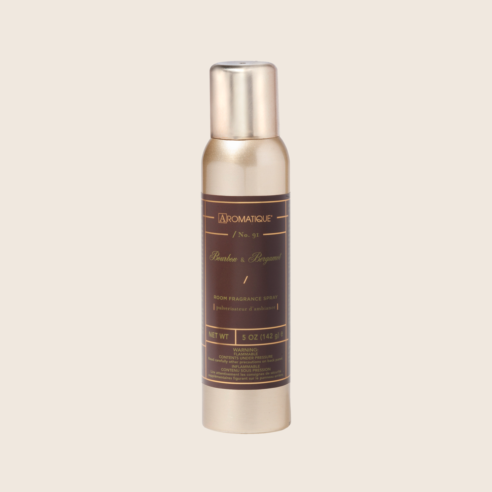 Bourbon & Bergamot - Aerosol Room Spray