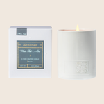 White Teak & Moss - Boxed Candle