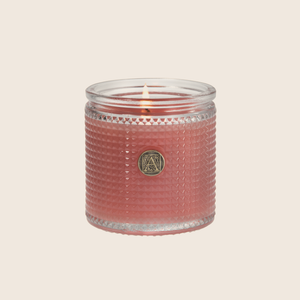 Pomelo Pomegranate - Textured Glass Candle