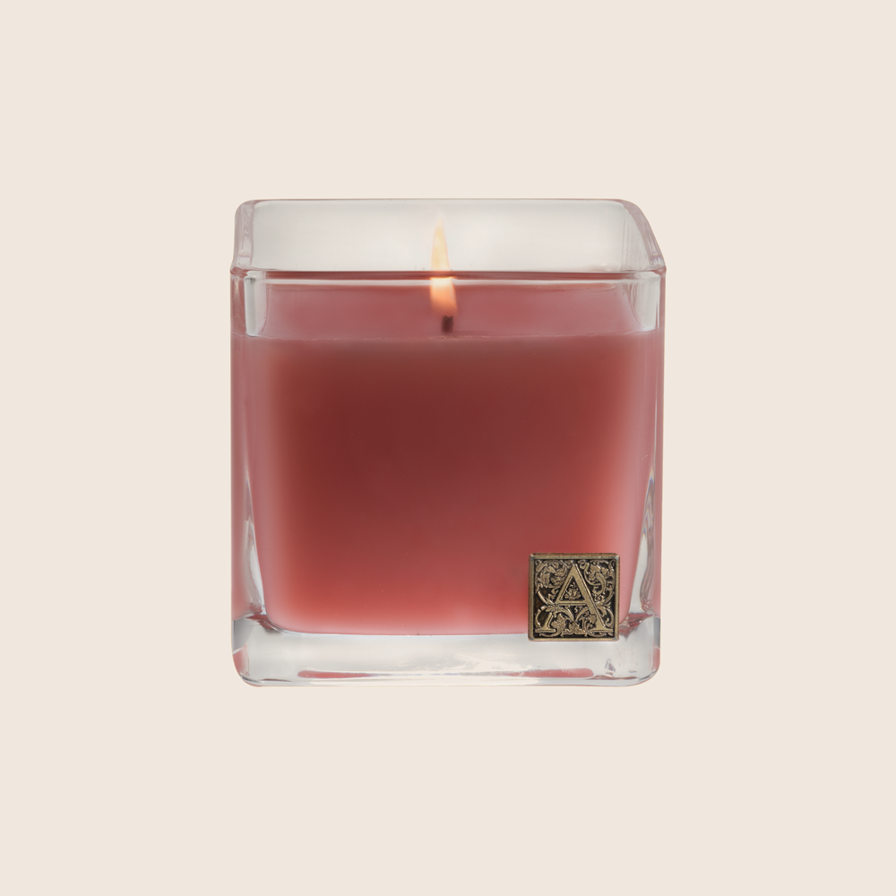 Pomelo Pomegranate - Cube Glass Candle