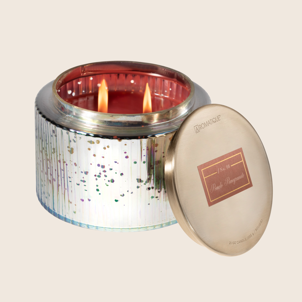 Load image into Gallery viewer, Pomelo Pomegranate - LG Metallic Candle