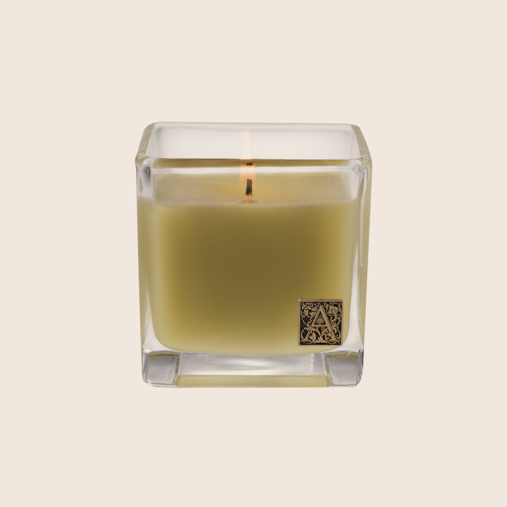Grapefruit Fandango - Cube Glass Candle