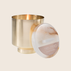 Load image into Gallery viewer, Mandarin Rosemary - 12oz Brass Candle