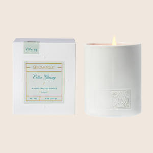 Cotton Ginseng - Boxed Candle