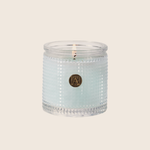 Cotton Ginseng - Textured Glass Candle