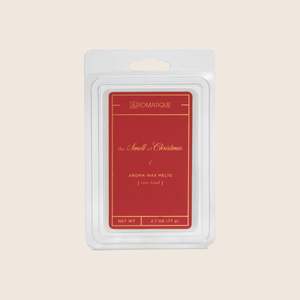 The Smell of Christmas® is our signature fragrance with captivating citrus and spice with a warm blend of natural botanicals. The Smell Of Christmas® Aroma Wax Melts contain a set of 8 cubes made from 100% food-grade paraffin wax and a highly fragrant aroma - no wicks or flames needed.