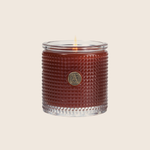 Pumpkin Spice - Textured Glass Candle