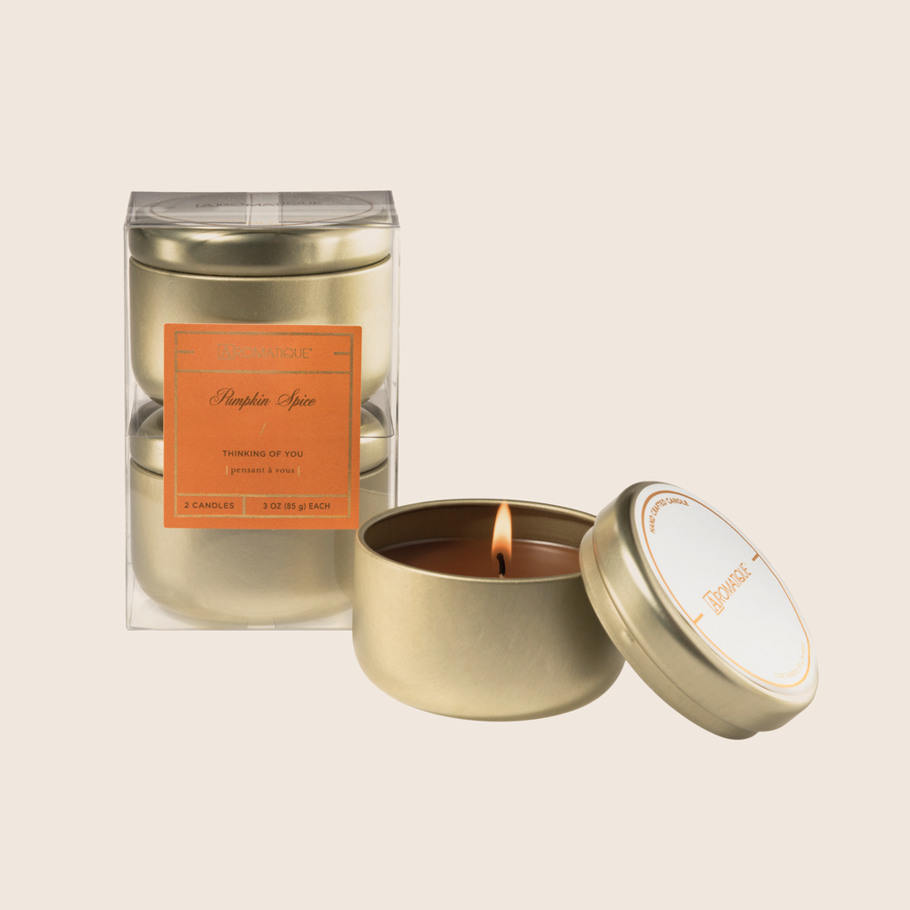 Pumpkin Spice - Thinking Of You Candle Set