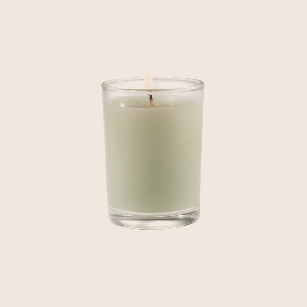 Fresh Hydrangea - Votive Glass Candle