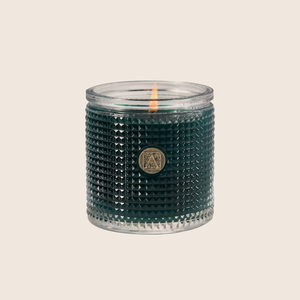 The Smell of Gardenia - Textured Glass Candle