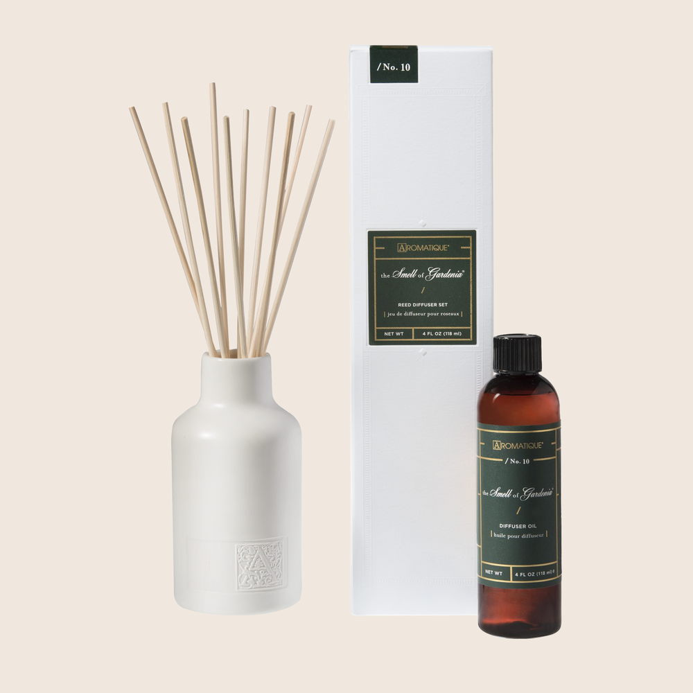 The Smell of Gardenia - Reed Diffuser Set