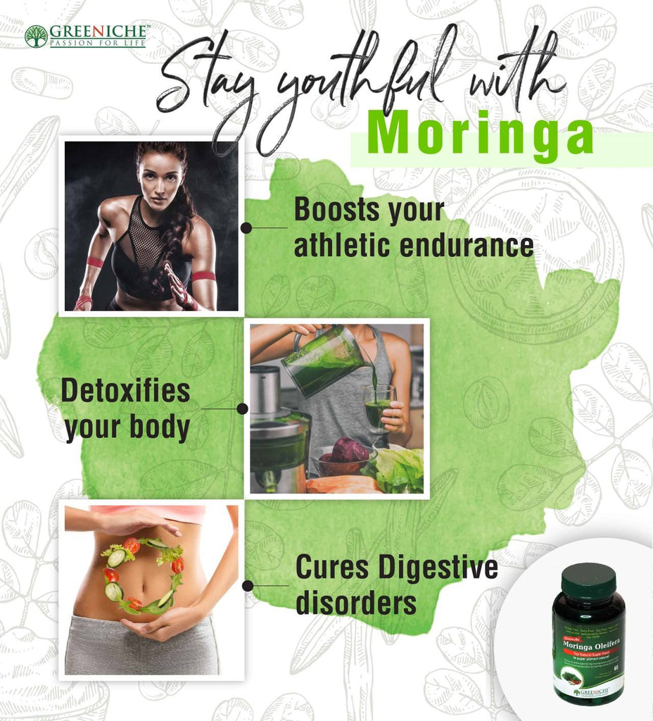 Stay Youthful With Moringa