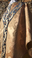 Antique Rose-Gold Silk Semi-Gothic Set - Sacra Domus Aurea
