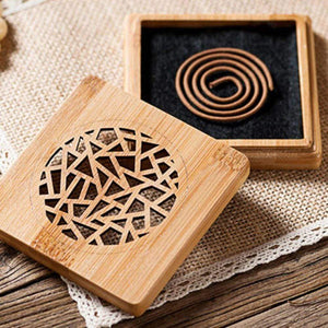Discover Bamboo Carved Incense Box Botana RX . Shop Perfumarie