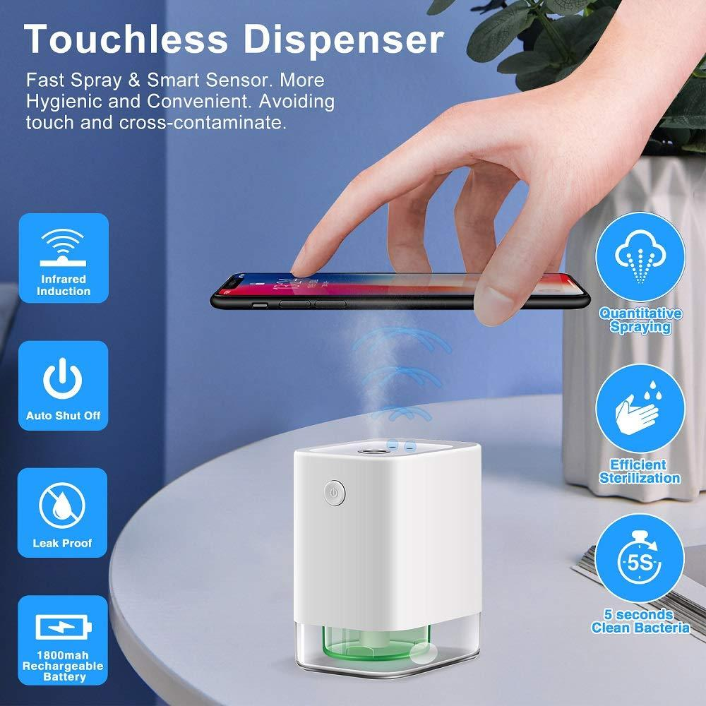 Discover Infrared Sensor Touchless Mini Sanitizer Dispenser Indie Perfumers Guild . Shop Perfumarie