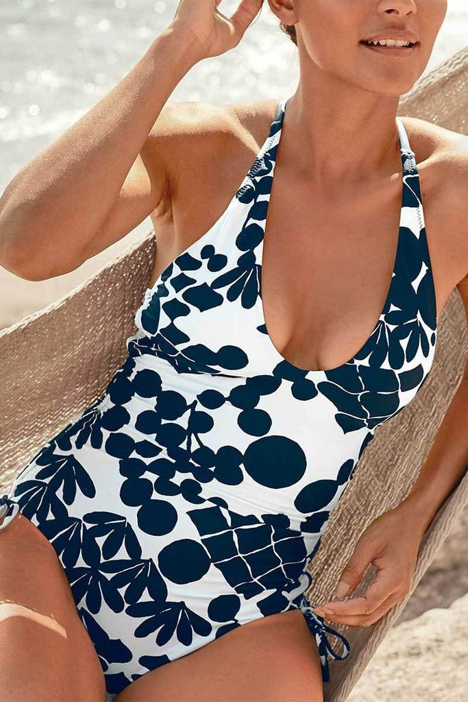 BALI BLOSSOMS MAILLOT ONEPIECE GARNETHILL SWIMSWIMSUIT