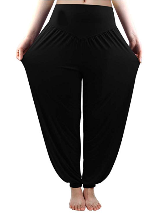 LOOSE SUMMER FIT YOGA PANT - With Pockets