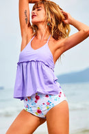 Romantic Day Halter Tankini Set