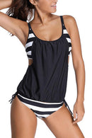 BACK TO TWENTY PATCHWORK TANKINI SET