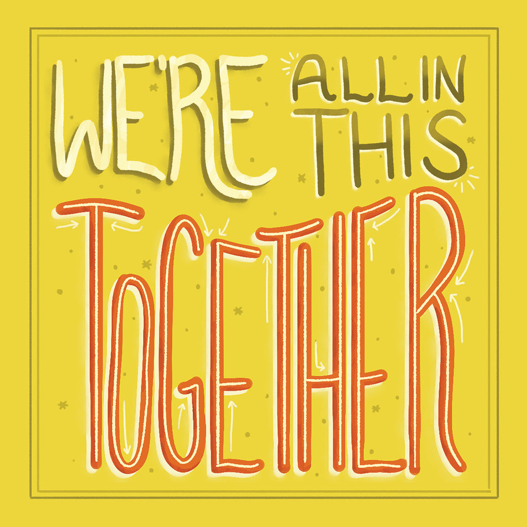 We're All in this Together / Karine Delorme