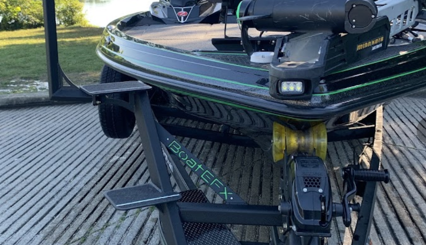 glow in the dark indicators trailer steps for boats