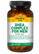Country Life DHEA Complex For Men 60 Veg Capsules