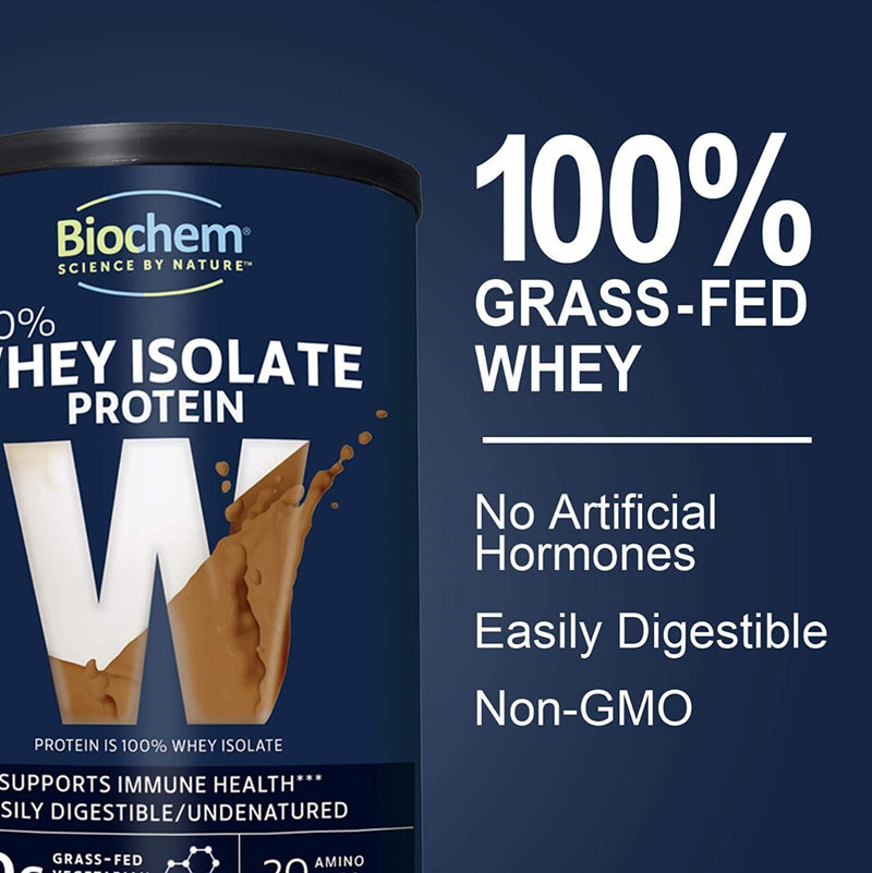 BIOCHEM SPORTS 100% Whey Protein Chocolate 15.4 oz