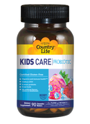 Country Life Kids Care Probiotic 90 Chewable Wafers