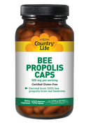 Country Life Bee Propolis Caps 500 mg 100 Veg Capsules
