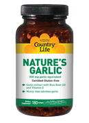 Country Life Nature's Garlic 180 Softgels