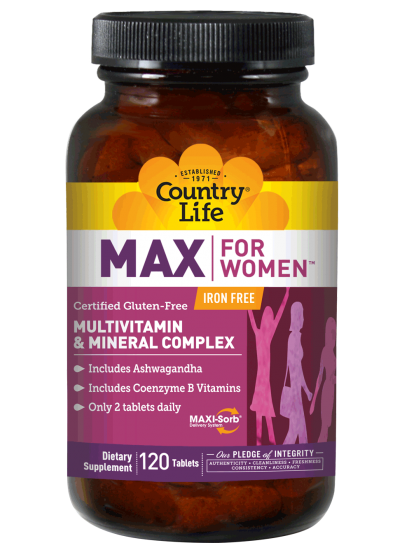 Country Life Max For Women 120 Tablets