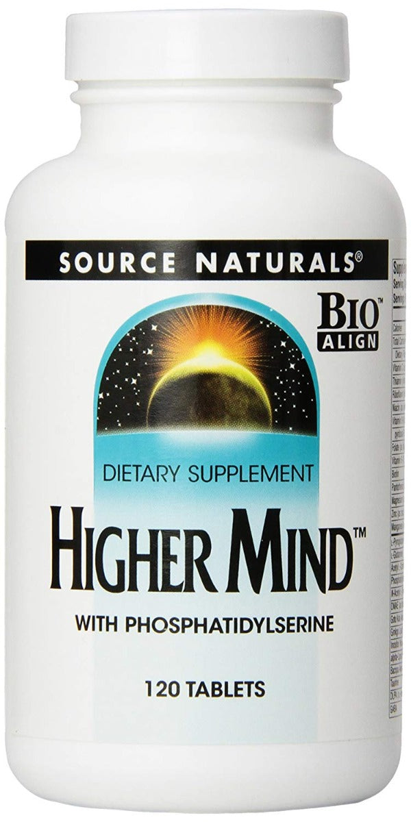 Source Naturals Higher Mind With Phosphatidylserine 120 Tablets
