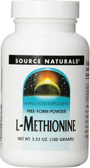 Source Naturals L-Methionine 3.53 oz