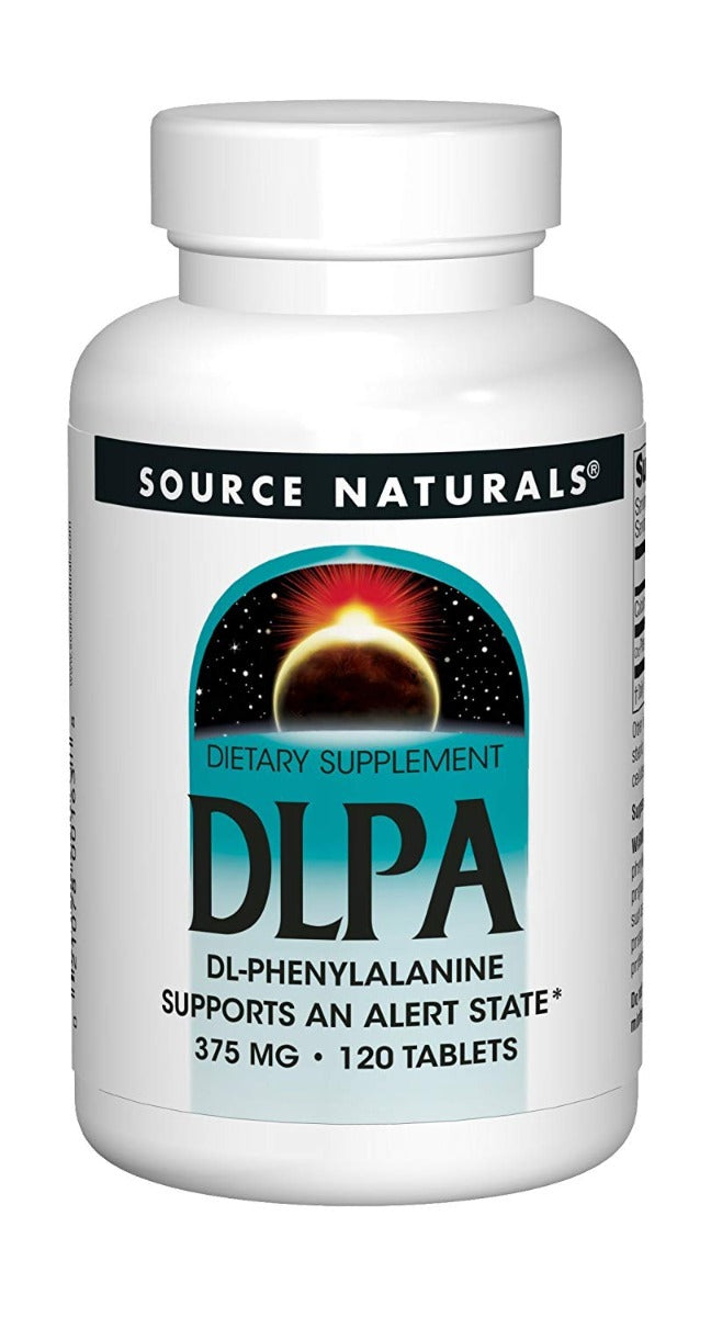 Source Naturals DLPA 375 mg 120 Tablets