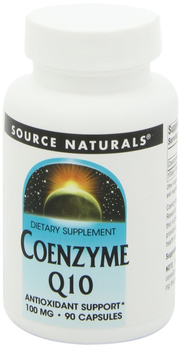 Source Naturals Coenzyme Q10 100 mg 90 Capsules