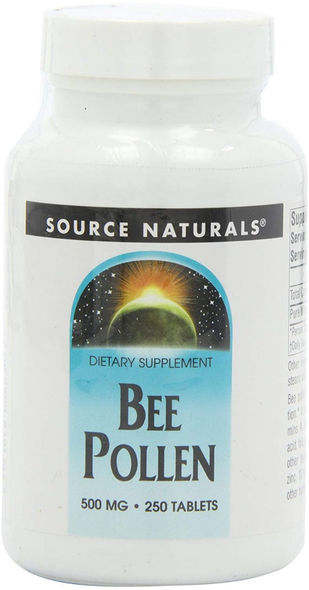 Source Naturals Bee Pollen 500 mg 250 Tablets