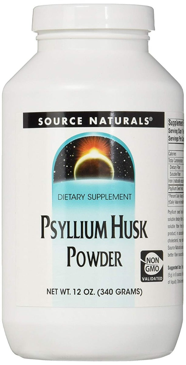 Source Naturals Psyllium Husk Powder 12 oz