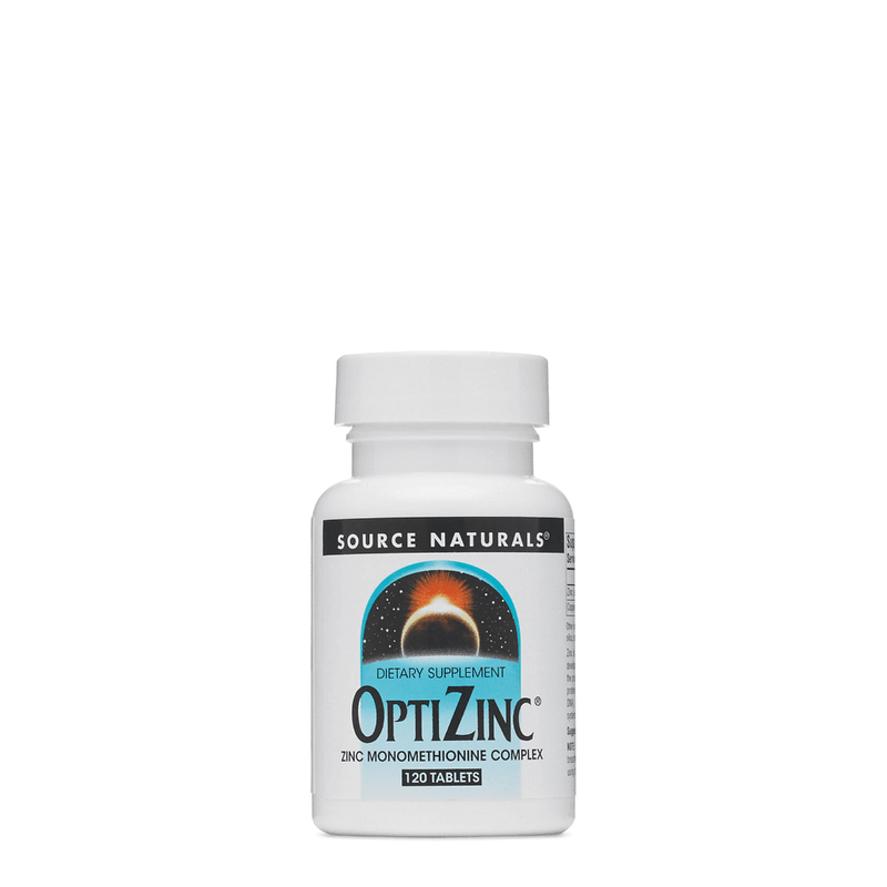 Source Naturals OptiZinc 120 Tablets