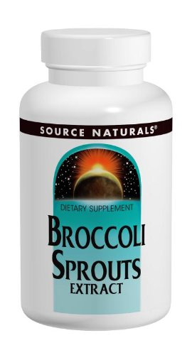 Source Naturals Broccoli Sprouts 250 mg 60 Tablets