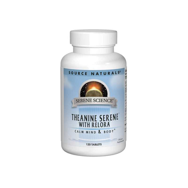 Source Naturals Theanine Serene with Relora 120 Tablets
