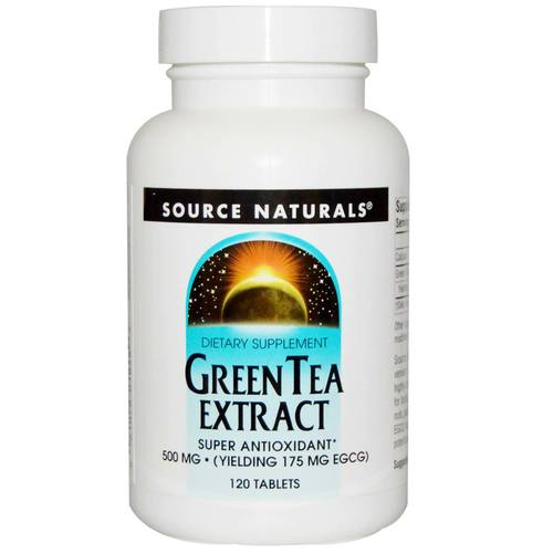 Source Naturals Green Tea Extract 500 mg 120 Tablets