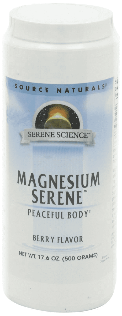 Source Naturals Magnesium Serene Berry 17.6 oz